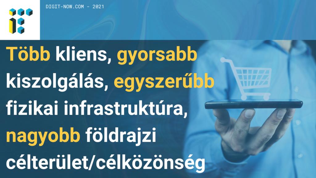Forgalomnövelés webáruház segítségével