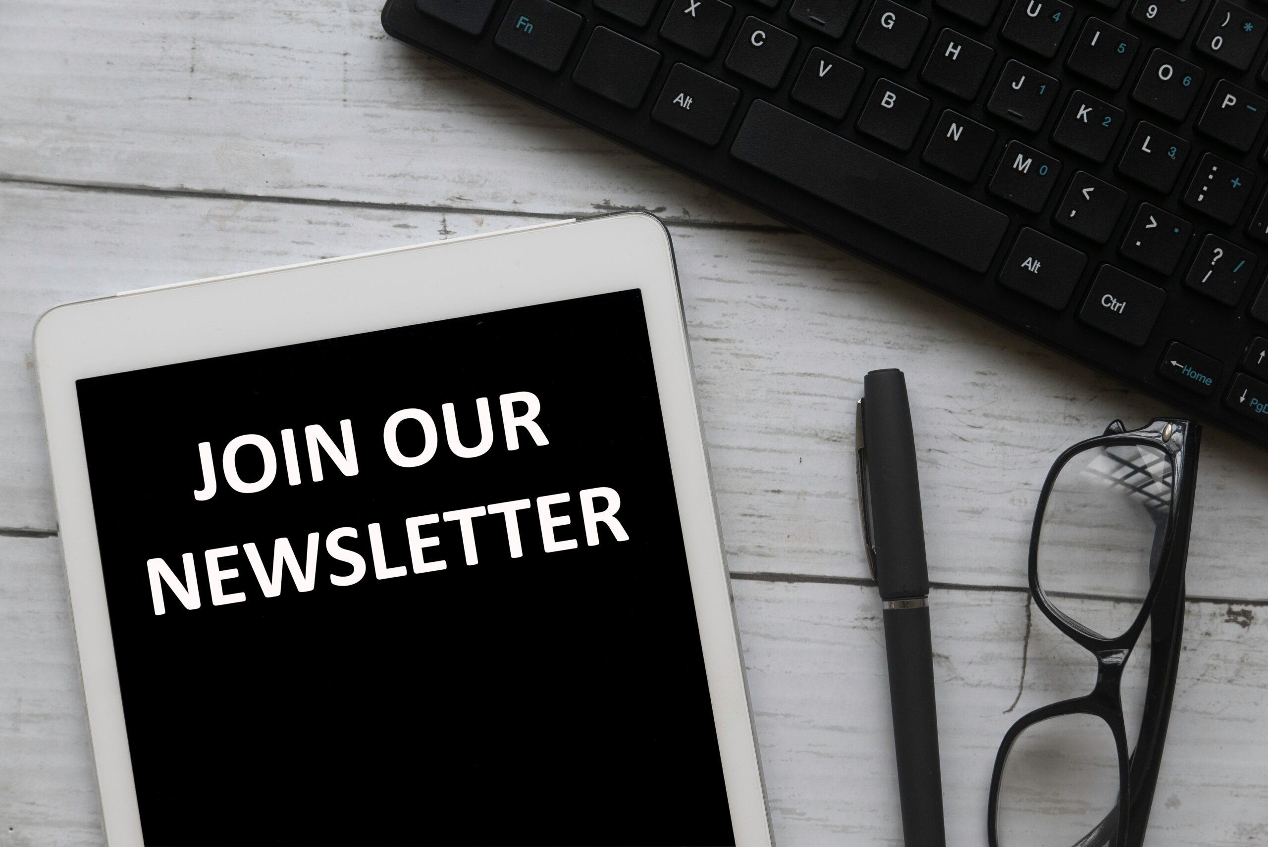join our newsletter concept APKQKEB scaled